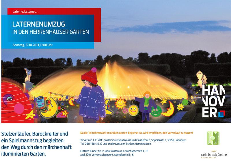 Laternenspaziergang Mit Spielmannszug Im Grossen Garten Flora Apotheke Hannover