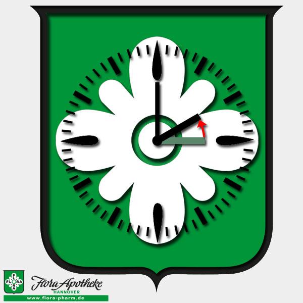 Ende der Sommerzeit = Uhr eine Stunde zurückstellen