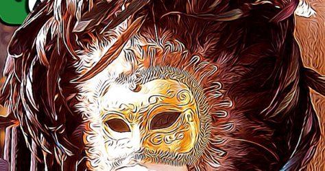 karneval maske venedig