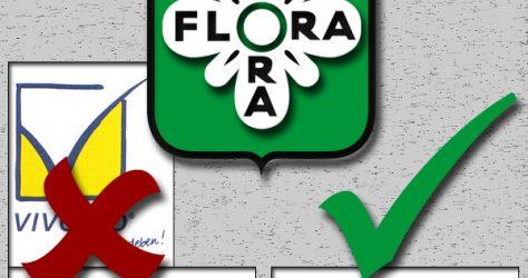 Becherglas Flora mit Logi2