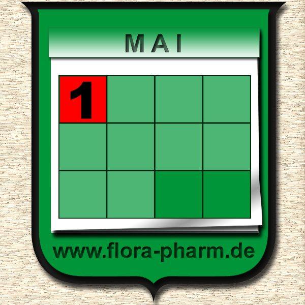 Becherglas Kalender 1Mai