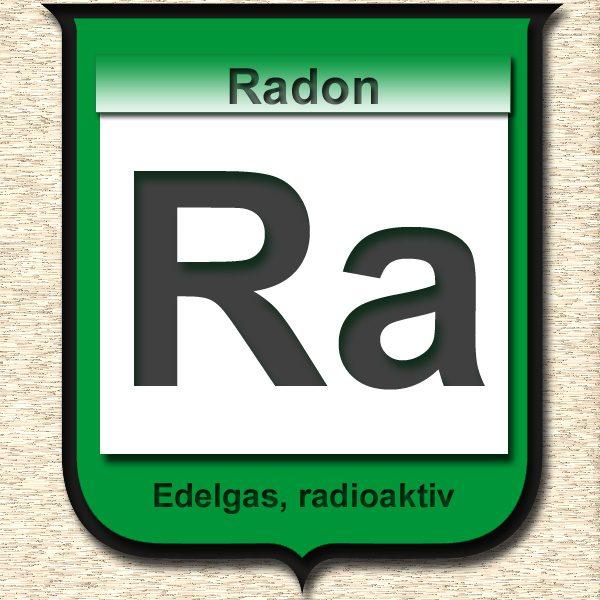 Becherglas-Radon