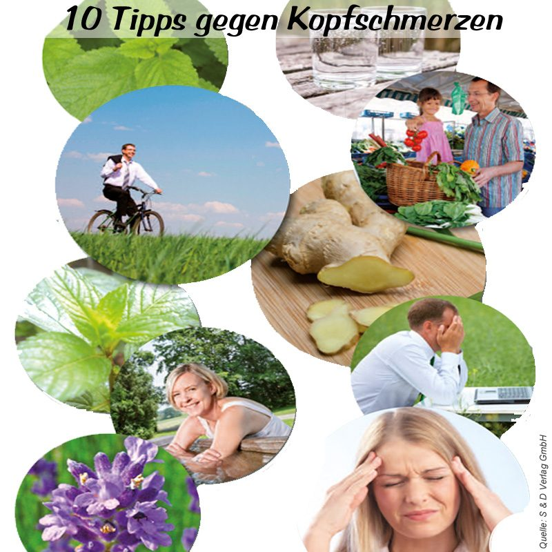 10 Tipps gegen Kopfschmerzen