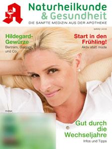 Mit freundlicher Genehmigung der S & D Verlag GmbH. Das komplette Naturheilkunde und Gesundheit Heft bekommen Sie auch bei uns in der Apotheke.