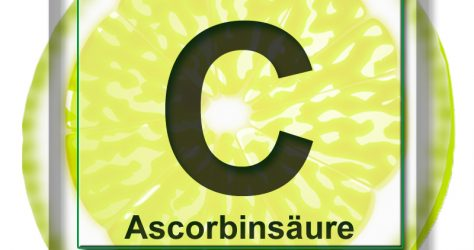 vitamin c becherglas