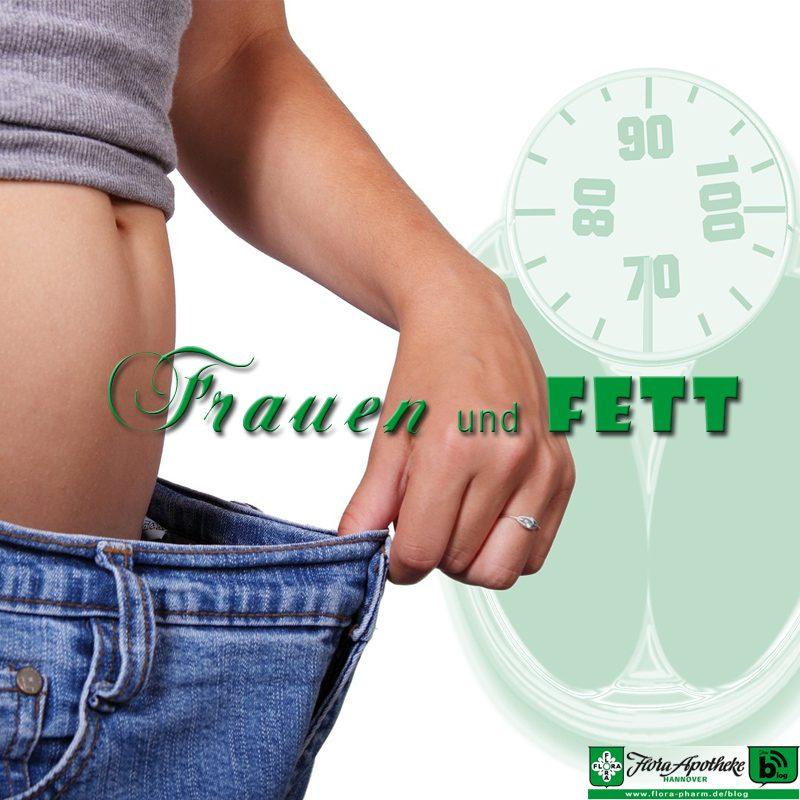 Frauen und Fett