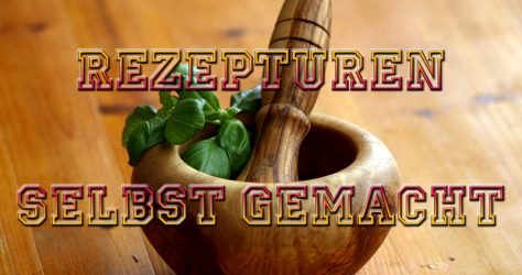 DIY Rezepturen Pflegemittel