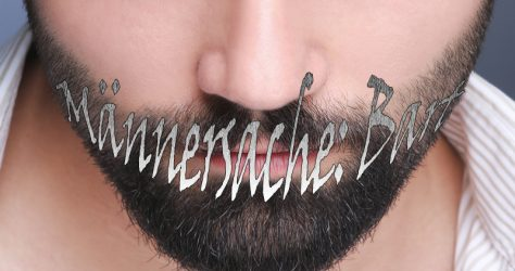 Männersache Bart
