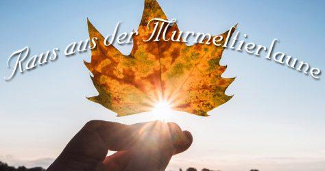 Murmeltierlaune - Herbstdepression