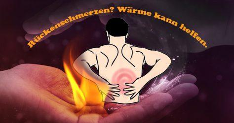 Wärme gegen Rückenschmerzen