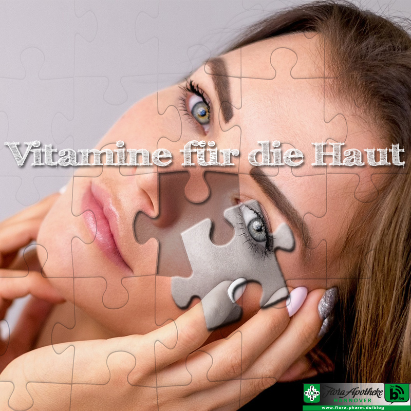 Vitamine für die Haut