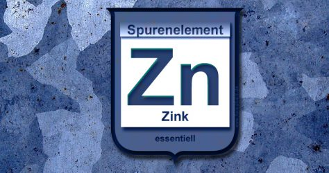 Zink Zn Spurenelement essentiell