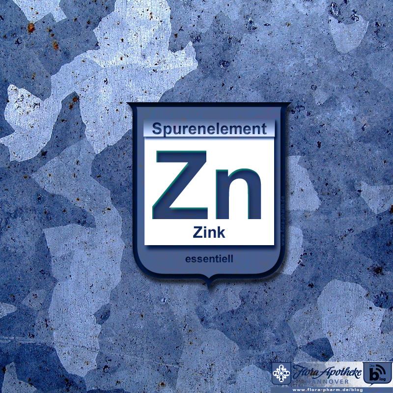 Zink Zn Spurenelement essentiell