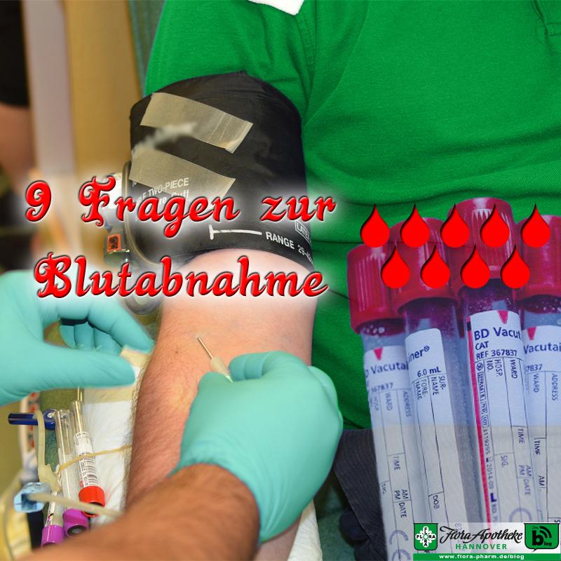 FAQ Blutabnahme Blutspende