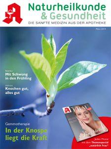 Naturheilkunde und Gesundheeit Cover 03/19