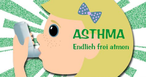 Asthma Inhalator frei atmen