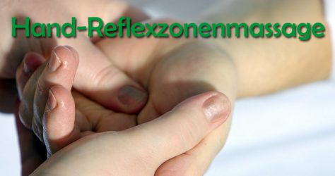 Reflexzonenmassage in der Hand