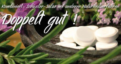 Schüßler-Salze kombiniert mit anderen Naturheilverfahren