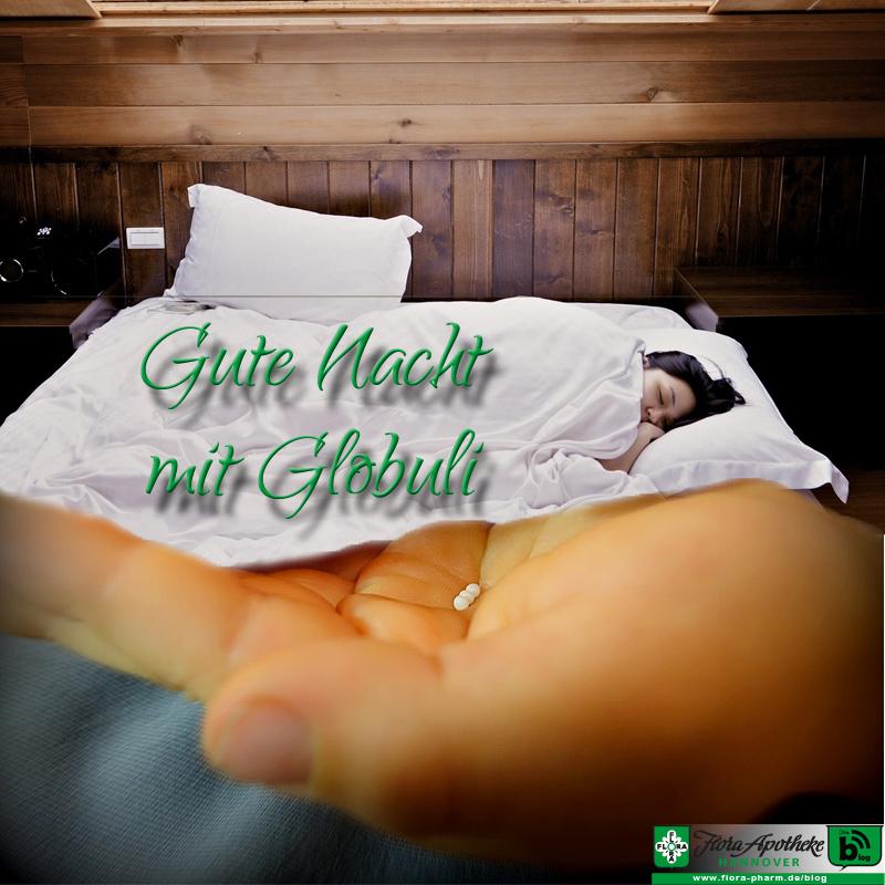 Globuli Homöopathie bei Schlafstörungen