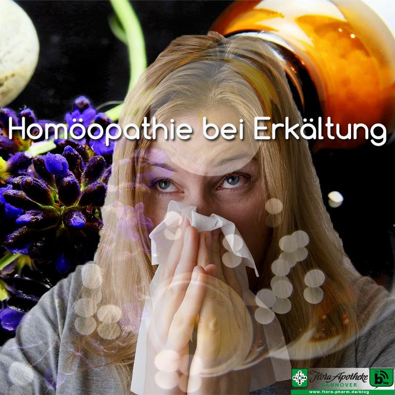 Globuli Homöopathie bei Erkältung