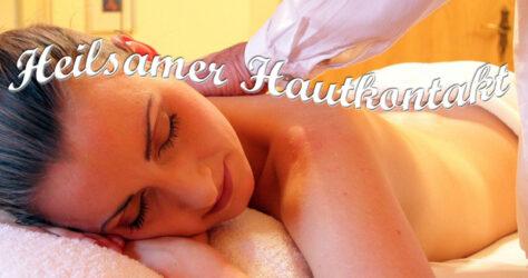 Massage - heilsamer Hautkontakt