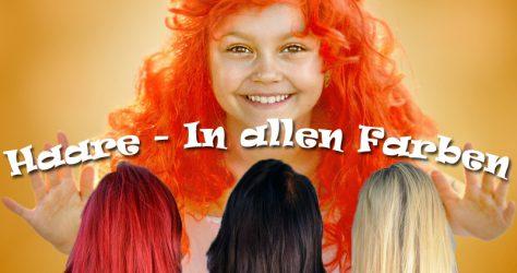 Haare - Alle Farben