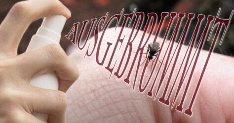Ausgebrummt - Mücken abwehren