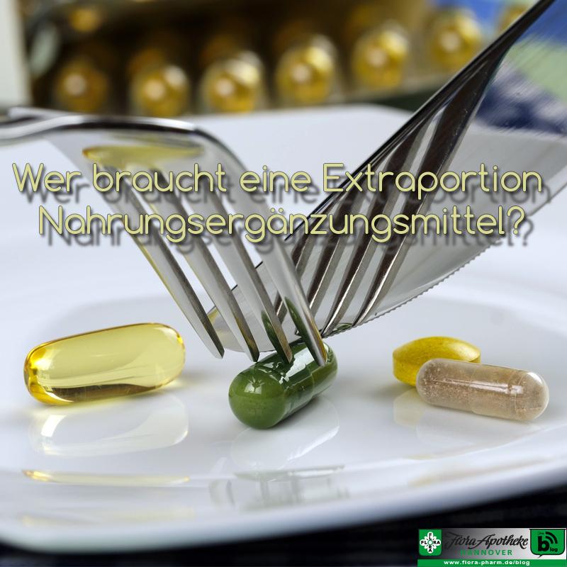 Nahrungsergänzungsmittel Flora Apotheke