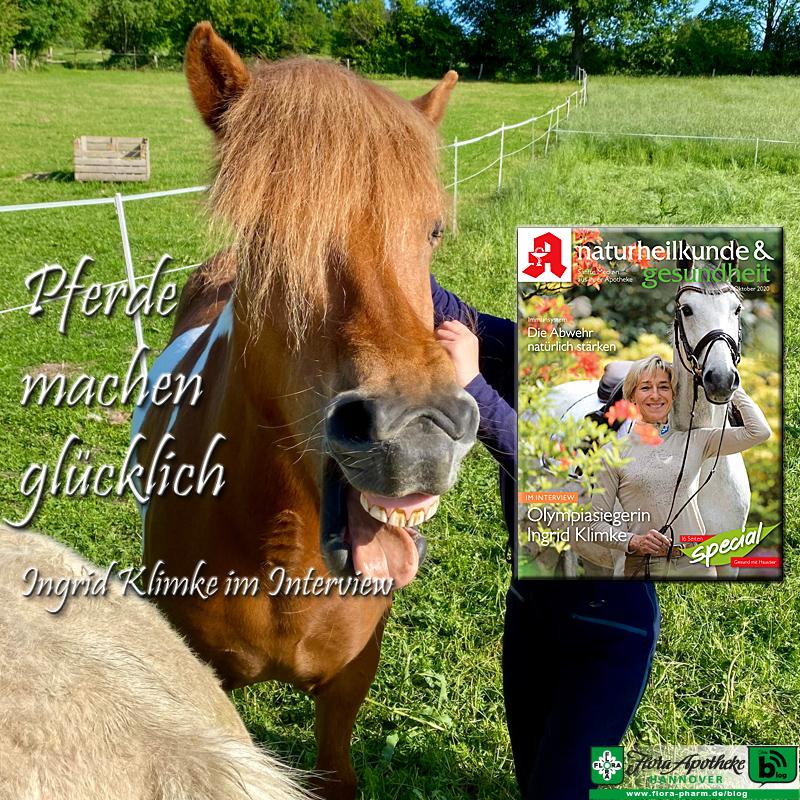 Pferde machen glücklich - Interview mit Olympiasiegerin Ingrid Klimke