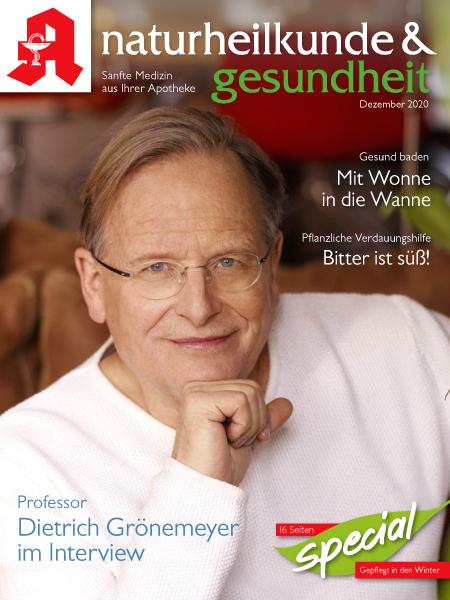 Naturheilkunde und Gesundheit - Cover 12-2020