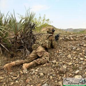Tarnkleidung Soldat
