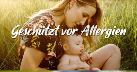 Baby Schutz vor Allergie