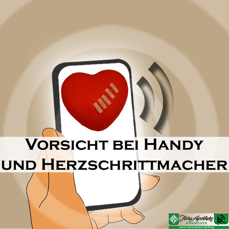 Vorsicht Gefahr bei Handy und Herzschrittmacher bzw. implantierbarem Defibrillator