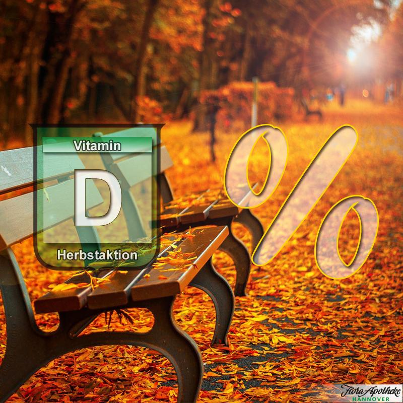 Vitamin D - Herbstrabatt 2021